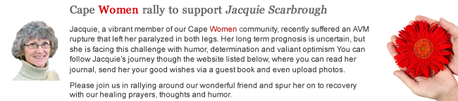 Support Jacquie Scarbough